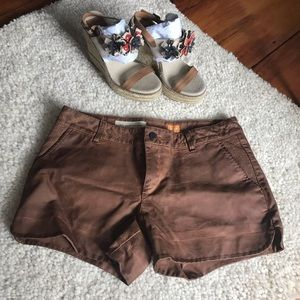 Anthropologie Vegan Leather Shorts from Pilcro